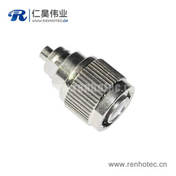tnc连接器直式公头焊接式射频同轴接线RG58_59