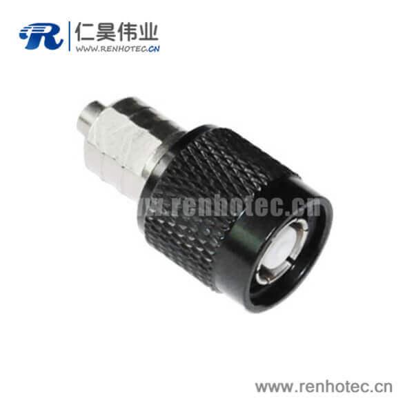 tnc连接头焊接直式反极插头同轴线缆RG174
