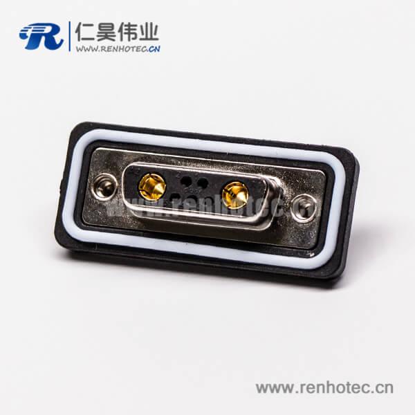 d sub 7w2大电流母头直式车针接pcb板插孔