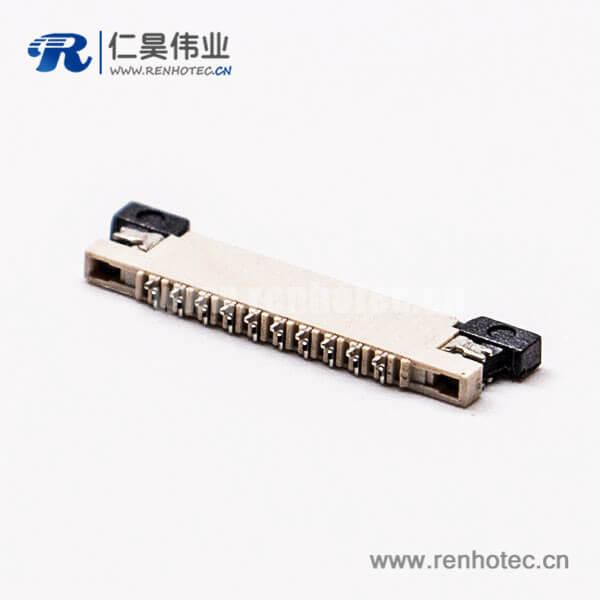 贴片fpc插座0.5mm前掀26pin下接触连接器1.8H