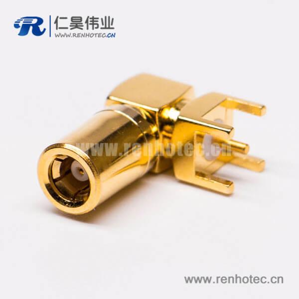 smb公头连接器接头插座pcb板端弯插