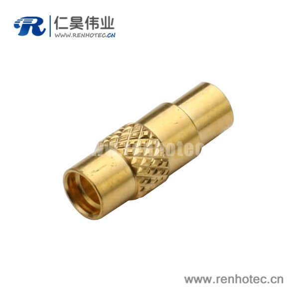 MMCX接头母头直式焊接式连接器接同轴线缆UT085