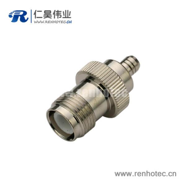 tnc型射频连接器母头直式焊接 同轴线缆UT085