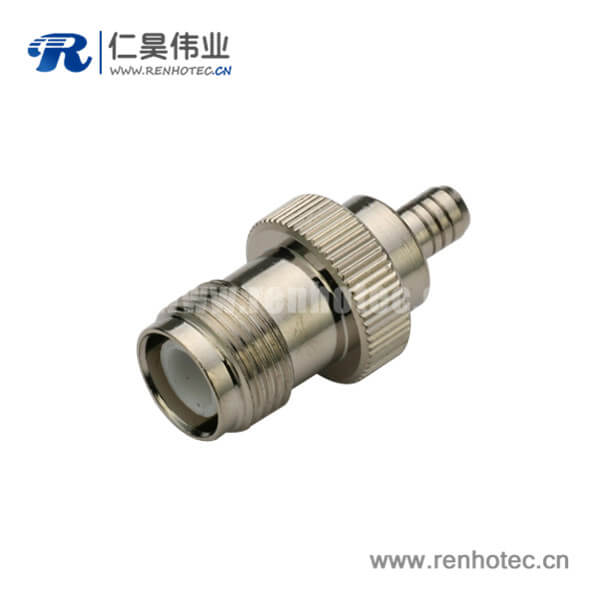 tnc母头接头rf射频直式压接RG400 同轴线缆
