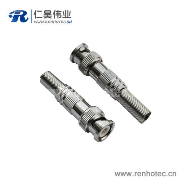 同轴电缆 bnc连接器射频 直式公头