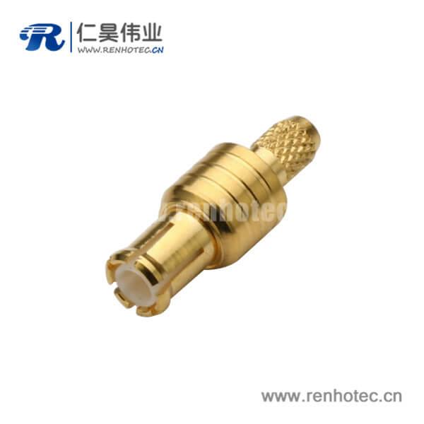 同轴电缆 视频线RG316S,174,188 mcx压接式直式公头连接器