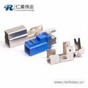 USB连接器有卷边和无卷边有什么不同
