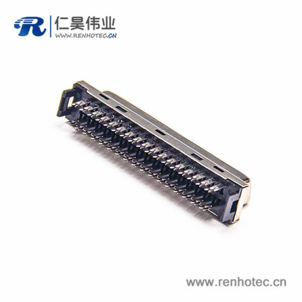SCSI50p母头 HPCN刺破式插座直式接线连接器