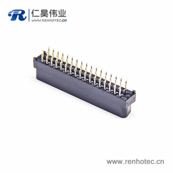 SCSI50公头HPDB插头焊接式直式插板连接器