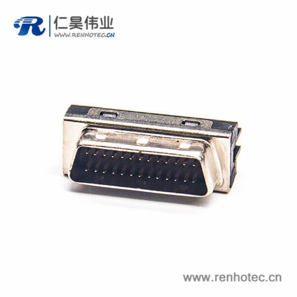 26PIN SCSI连接器HPDB公头直式焊接式接线
