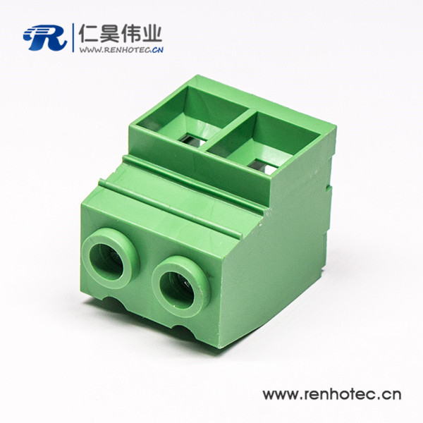 螺钉式PCB安装式接线端子直式穿孔端子连接器