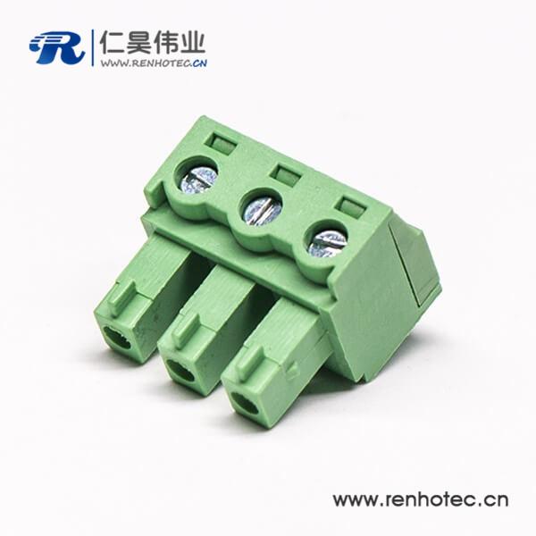 插拔式90度弯式穿墙端子端子接线插头