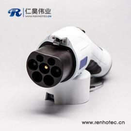 交流16A国标电动汽车供电端充电桩端充电枪