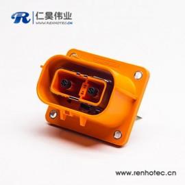 2芯150A电动汽车连接器高压互锁