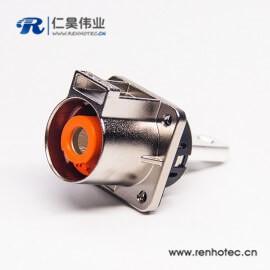 金属单芯耐高压连接器互锁直式插座电流200A