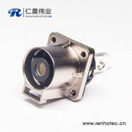 200A直式互锁高压单芯连接器金属电流插座连接器