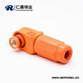 新能源单芯12mm防水IP67储能连接器350A塑料母接头插头