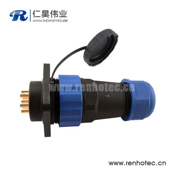 航空插头插座 SP29 19芯IP68防水连接器