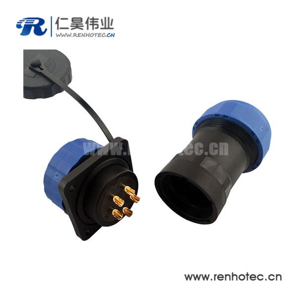 防水连接器SP29 16芯航插