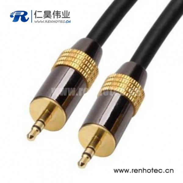 3.5mm音频公对公线直式电脑音频线30CM
