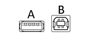 到底USB A型和USB B型插头的连接器接口有什么区别