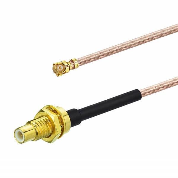 RF同轴线生产厂家专供IPEX转SMC母头RG178组装线20CM