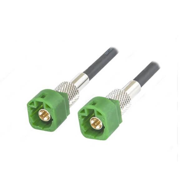 高速LVDS信号线束1米接4芯E型HSD公头