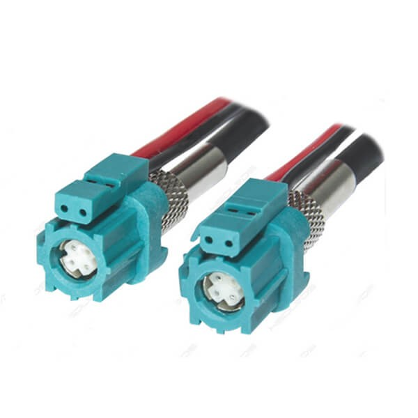 HSD连接器生产厂家专供6芯Z型母转母LVDS组装线束1米