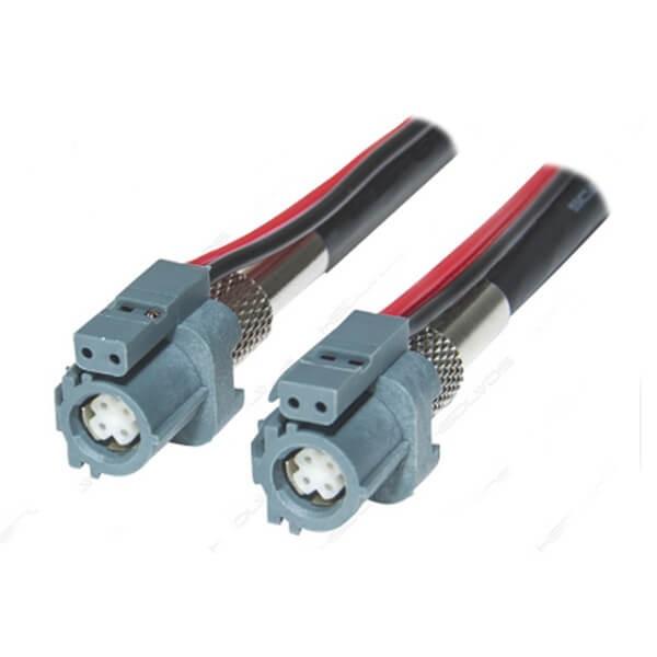 HSD 连接器6芯母头转母头LVDS组装线束1米