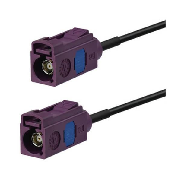 汽車通信Fakra天線延長電纜5m用於奧迪A4 S4 A6 S6 A3 Q5 Q3 Q7
