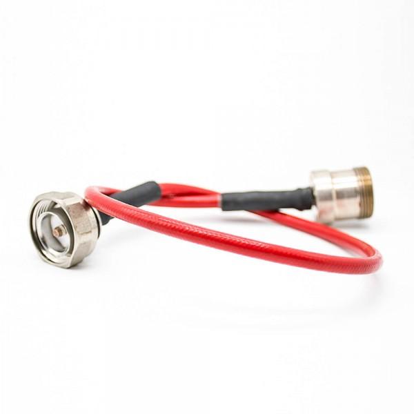 标准DIN公头转母头直式线材线长30cm