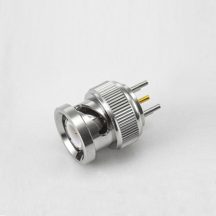 BNC公头直式焊接PCB