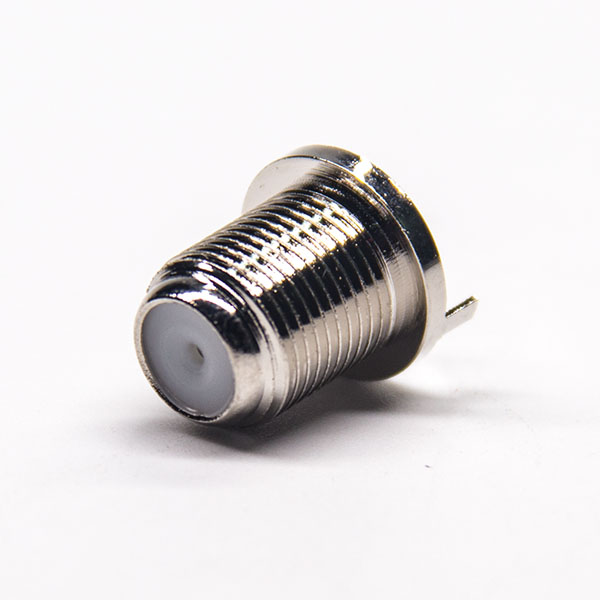 f头镀镍母头直式插孔式接PCB板原厂直发
