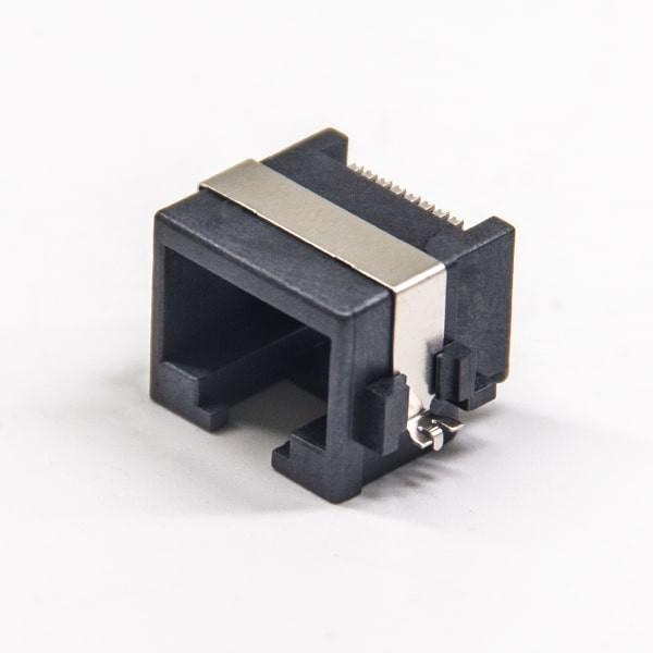 smtrj45接插件弯式90度中包带屏蔽不带滤波器