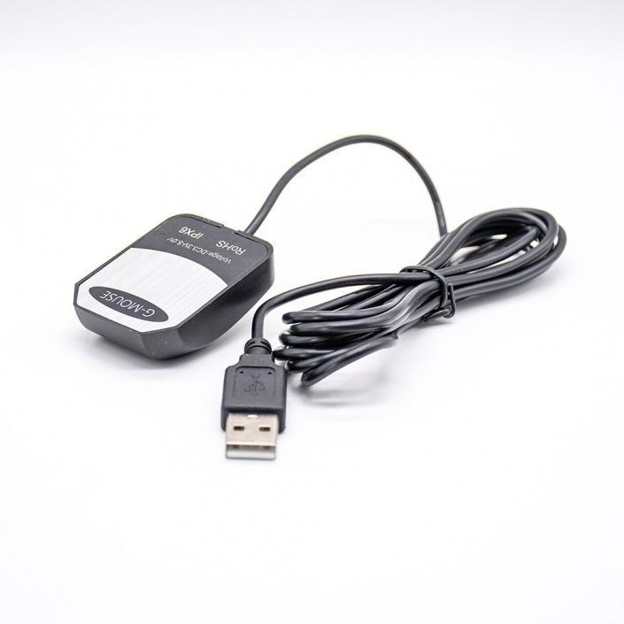 低价5dBi高增益GPS信号接收黑色天线接USB