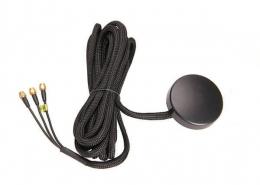 优质黑色GPSGSM天线用于数字电视接SMA公头线材RG174