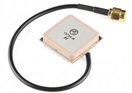 GPS瓷块天线带SMA公头接RG1741.13线材