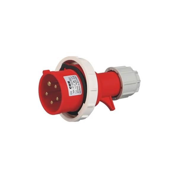 耦合器插头32A5芯防水IP67工业插头