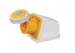 工业连接器黄色IP67防水16A3芯130V