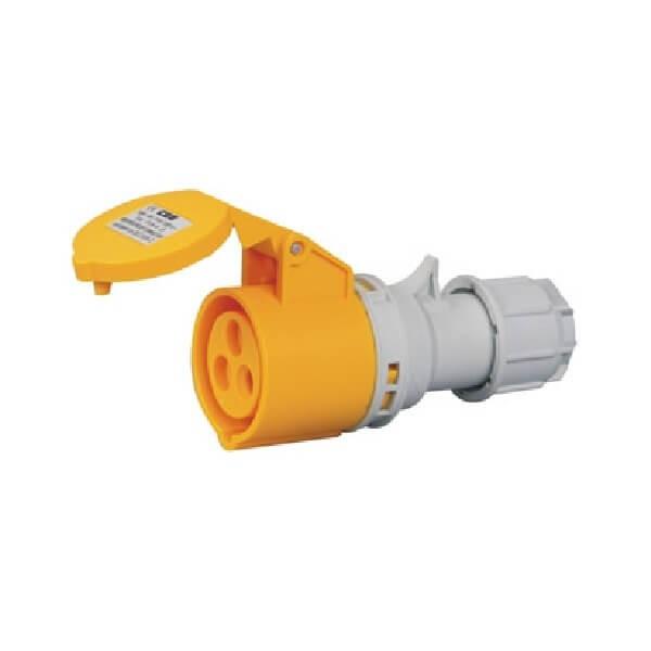 32A三芯插座室外工业插座IP44
