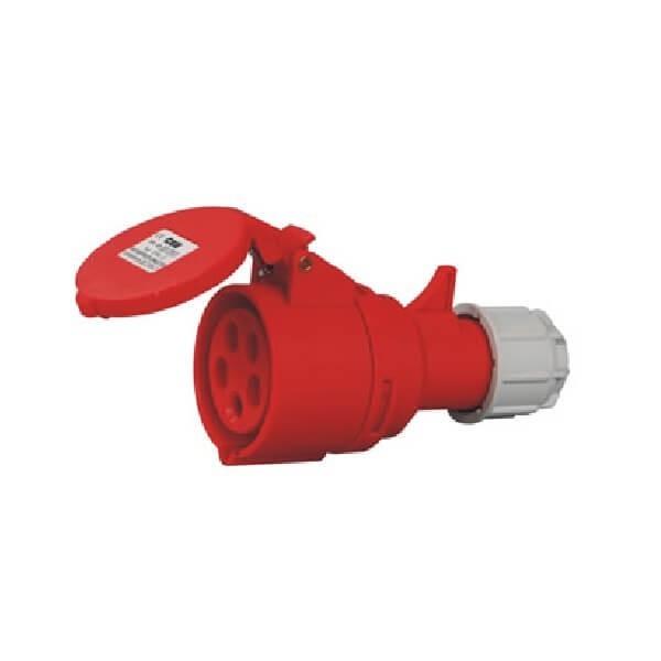 3相工业插座32A5芯CEE/IEC室外插座