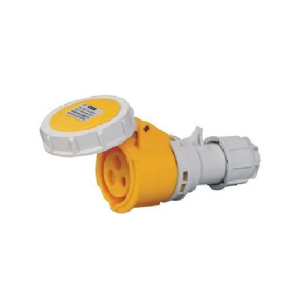 CEE工业连接器16A3芯IP67室外连接器