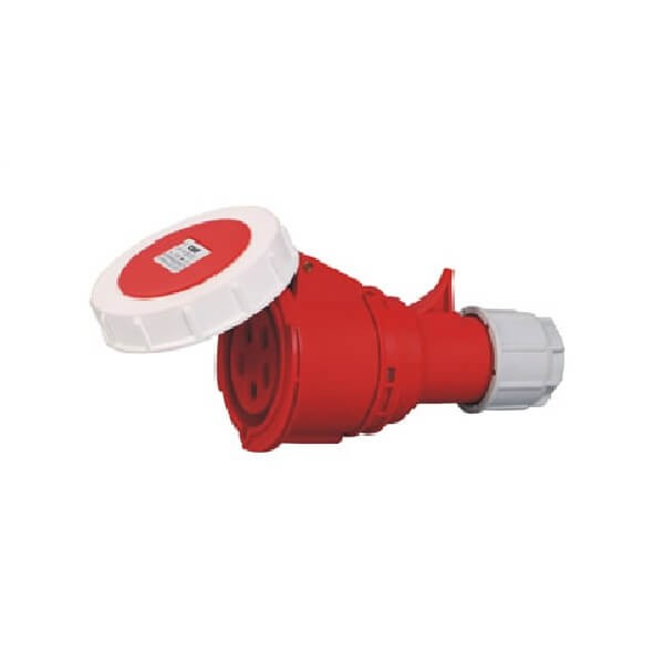 可移动工业插头32A5芯IP67防水连接器